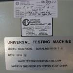 WAW-1000E Calibration Stickers